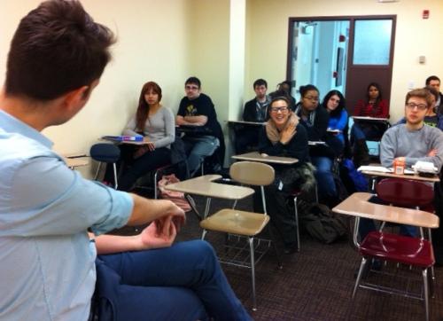 Tom in class