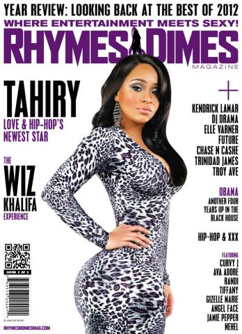 Rhymes & Dimes Magazine Cover